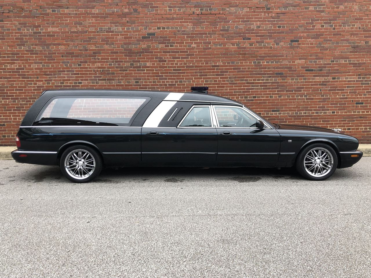 2002 Jaguar Bennett Coach Hearse