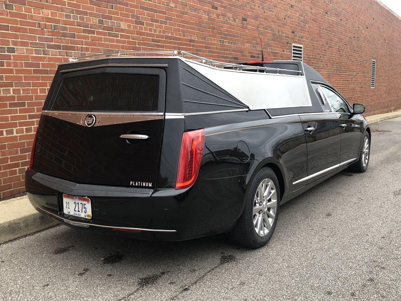 2014 Platinum Cadillac Cortege Hearse For Sale Near Me