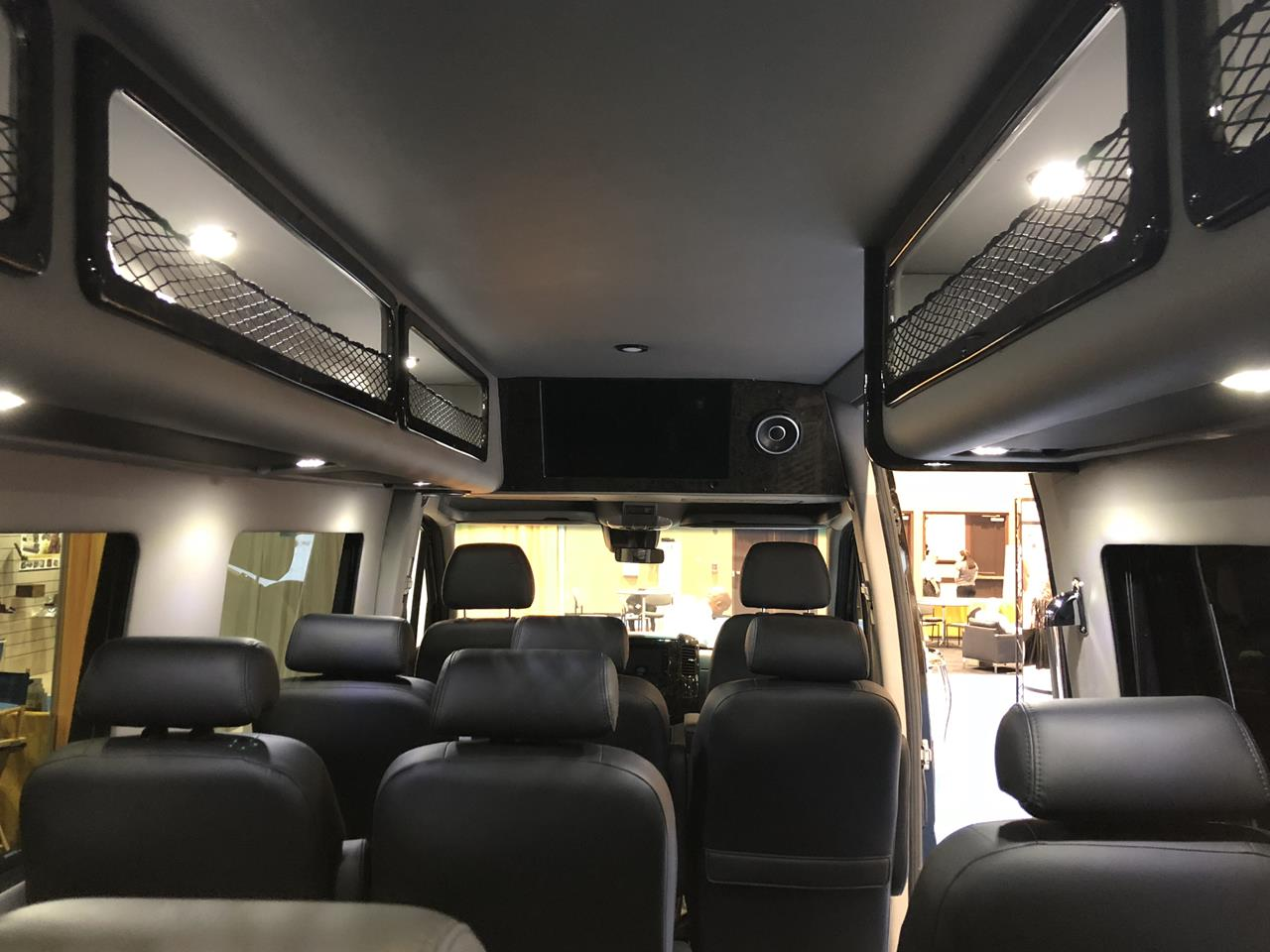 2018 Mercedes Executive Shuttle 14 Passenger Limousine 17