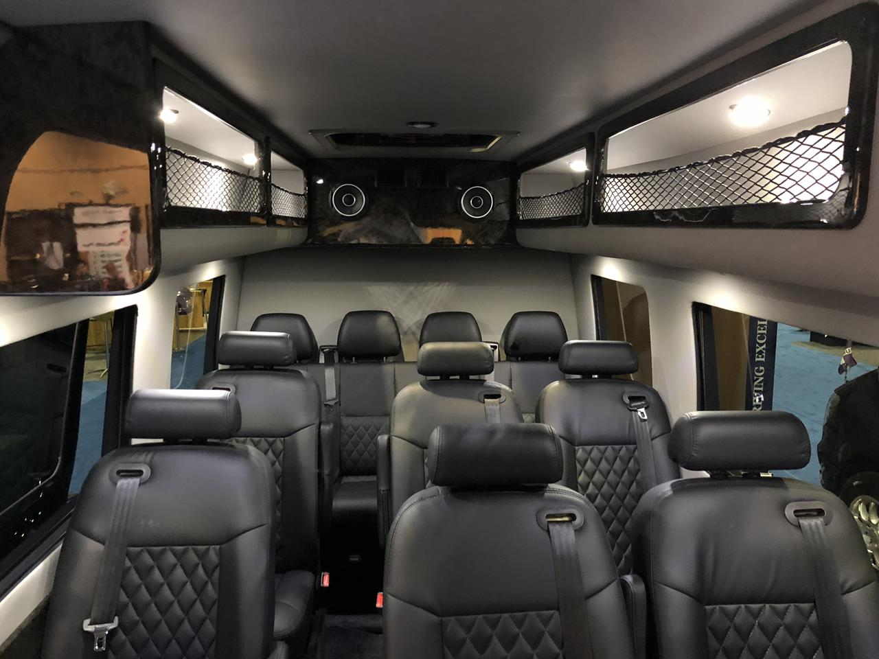 2018 Mercedes Executive Shuttle 14 Passenger Limousine 9