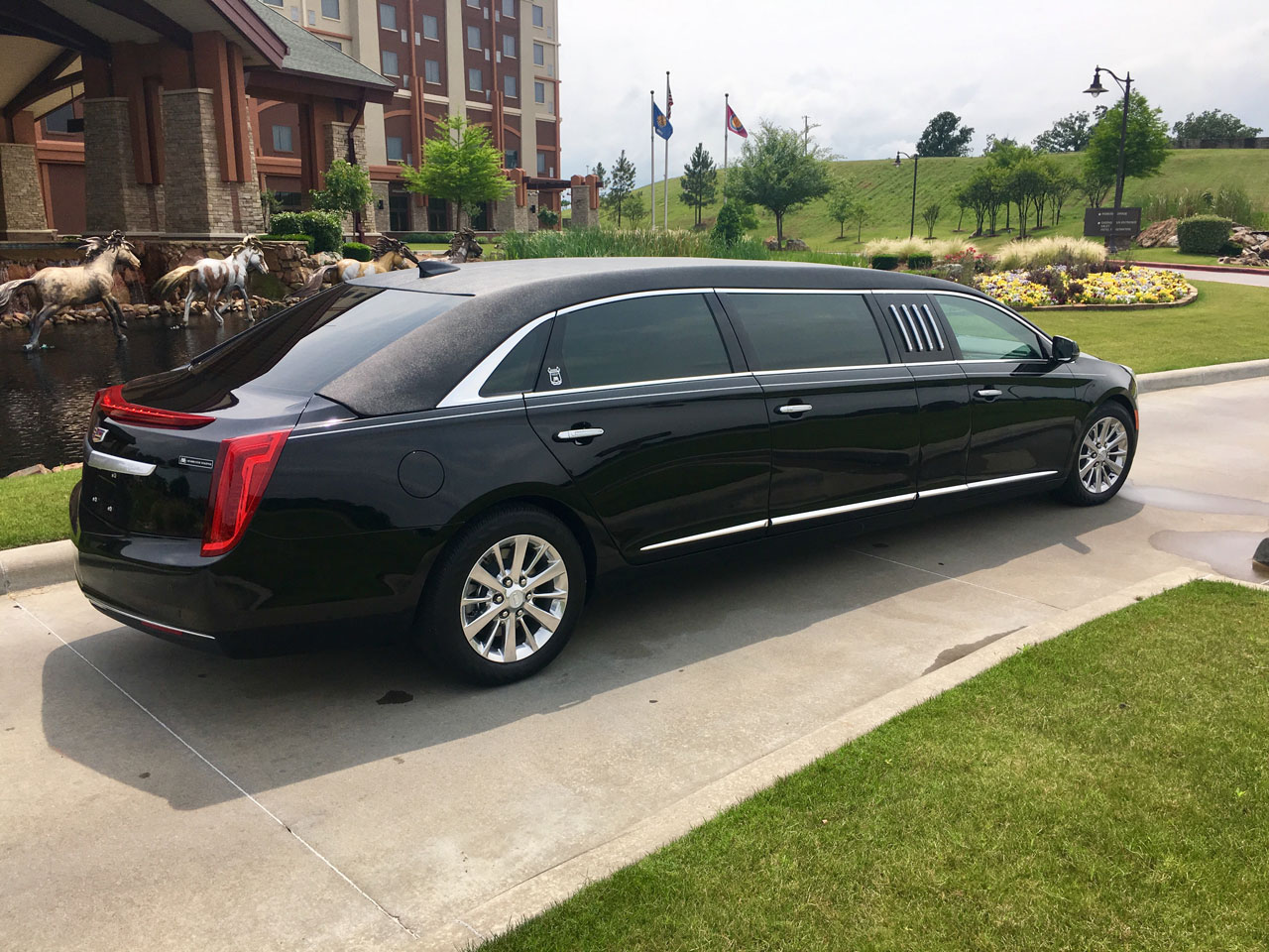 2019 Armbruster Stageway Cadillac 70 Stretch Limousine 7
