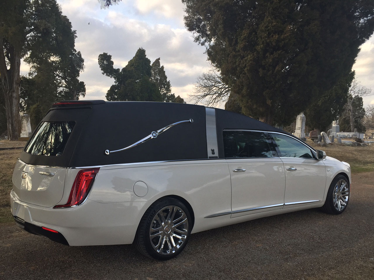 2019 Armbruster Stageway Cadillac Crown Landau Traditional Hearse 1