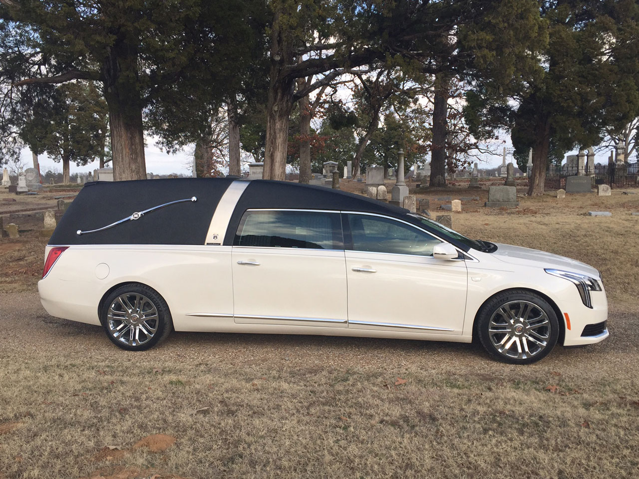 2019 Armbruster Stageway Cadillac Crown Landau Traditional Hearse 2