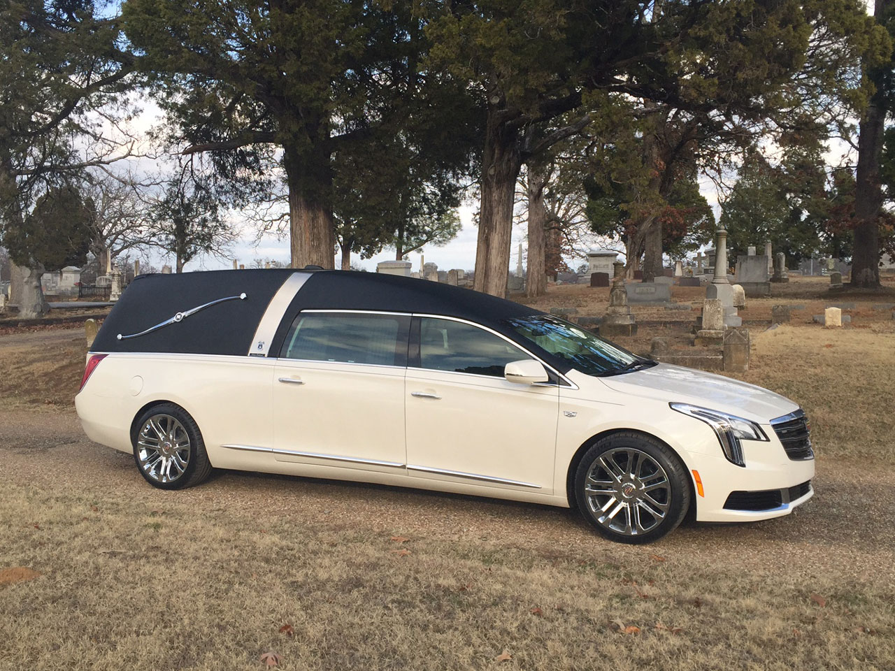 2019 Armbruster Stageway Cadillac Crown Landau Traditional Hearse 3