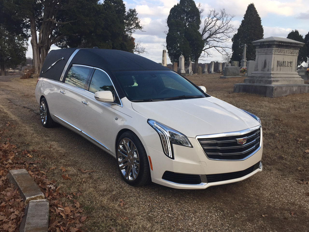2019 Armbruster Stageway Cadillac Crown Landau Traditional Hearse 4