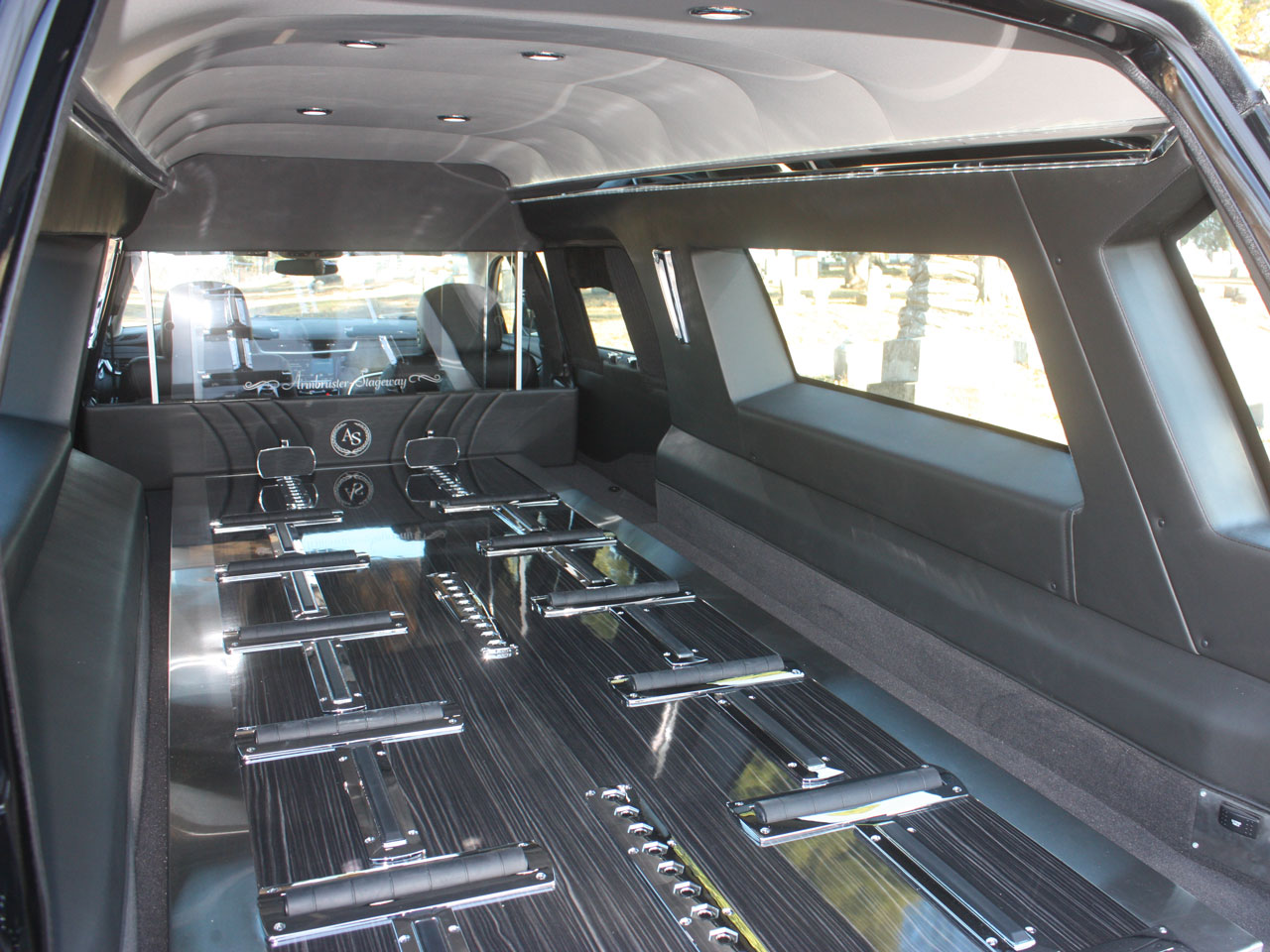 2019 Armbruster Stageway Cadillac Crown Regal Hearse 3