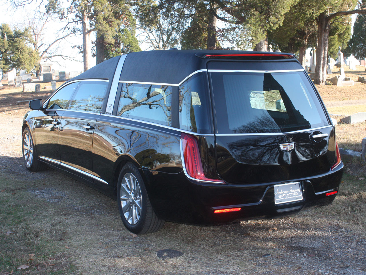 2019 Armbruster Stageway Cadillac Crown Regal Hearse 4