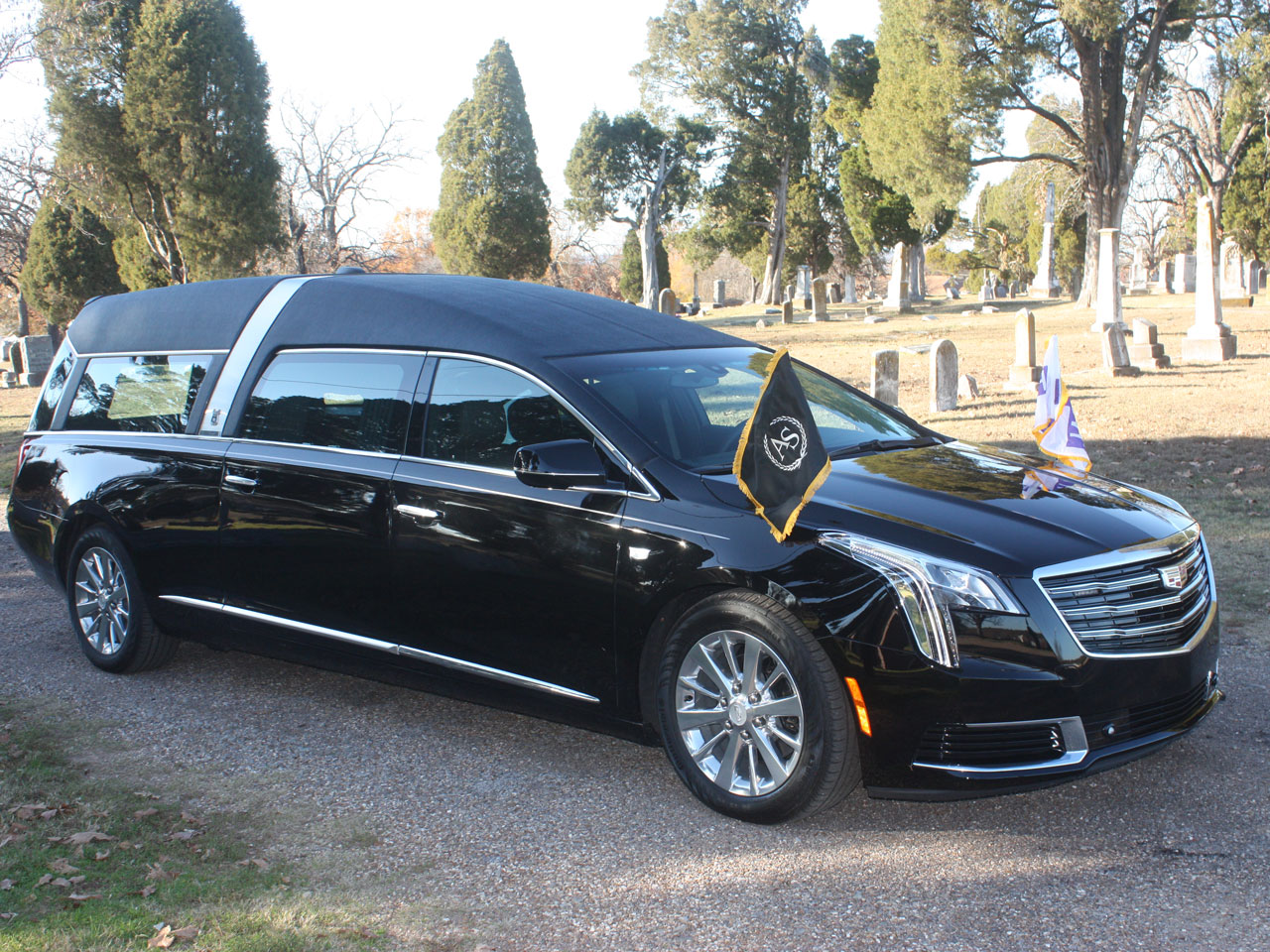 2019 Armbruster Stageway Cadillac Crown Regal Hearse 6