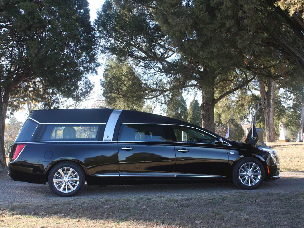 2019 Armbruster Stageway Cadillac Crown Regal Hearse 7