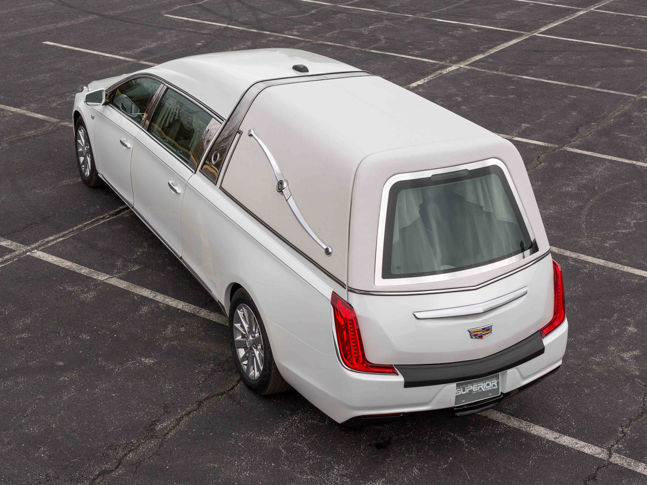 2019 Cadillac Crown Sovereign Hearse 2