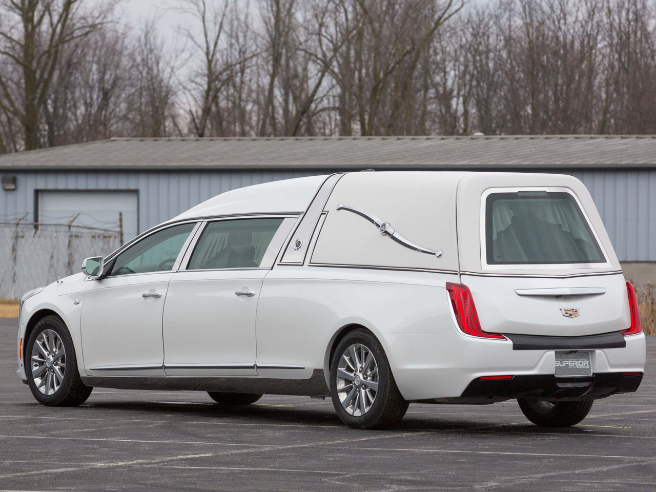 2019 Cadillac Crown Sovereign Hearse 4