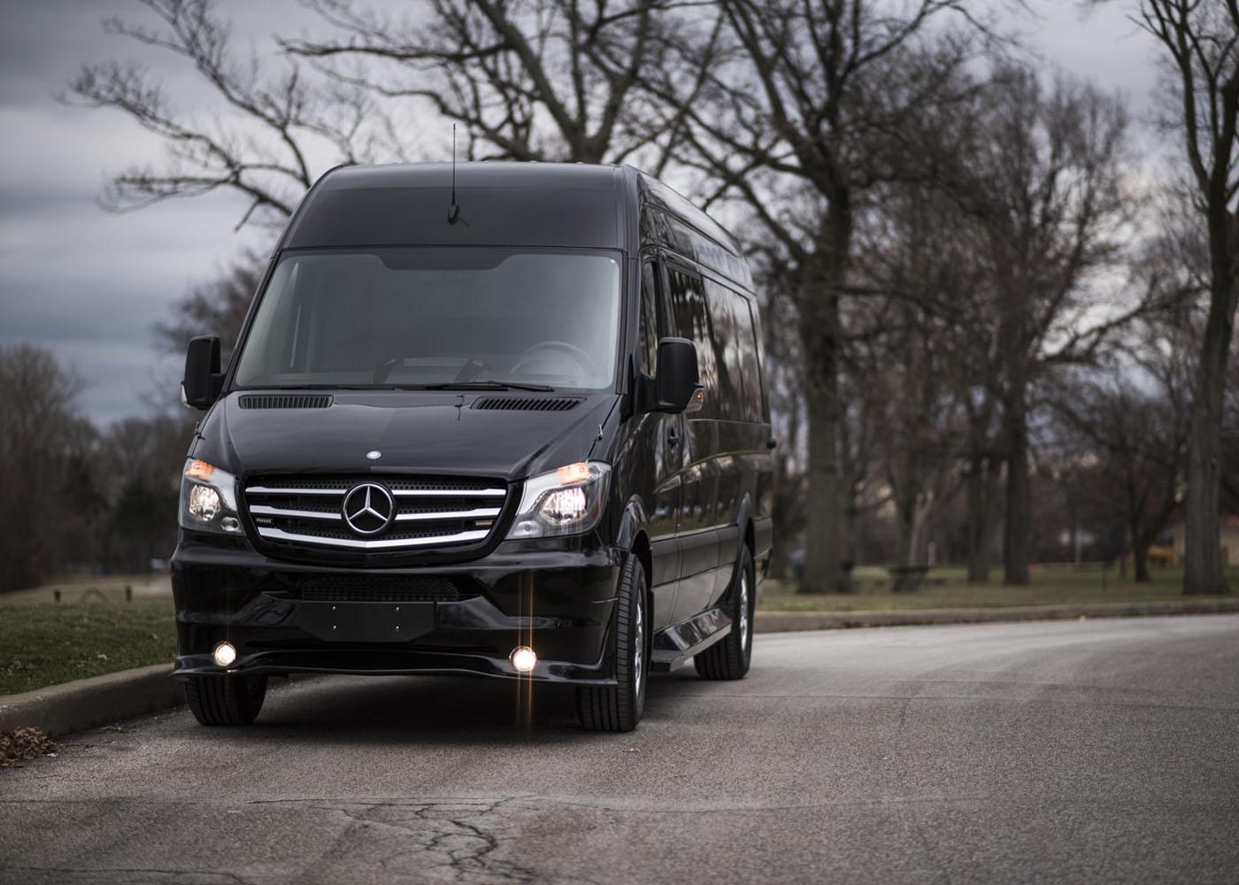 Midwest Automotive Design - Luxury Custom Sprinter Vans - American