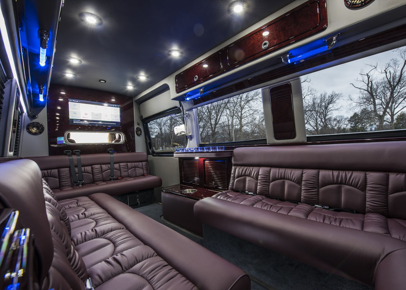 Midwest Automotive Design Luxury Custom Sprinter Vans