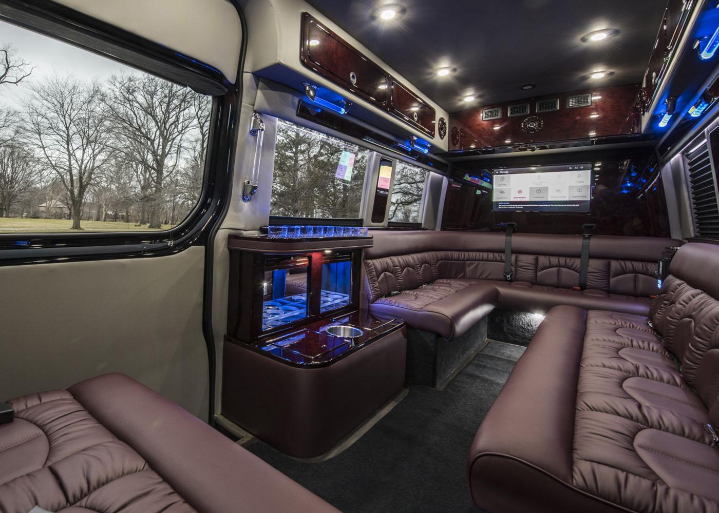 Luxury Vans: Luxury Custom Sprinter Vans